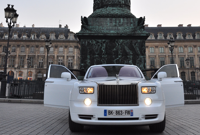 Rolls Royce Phantom phase 1 (Modèle 2008)