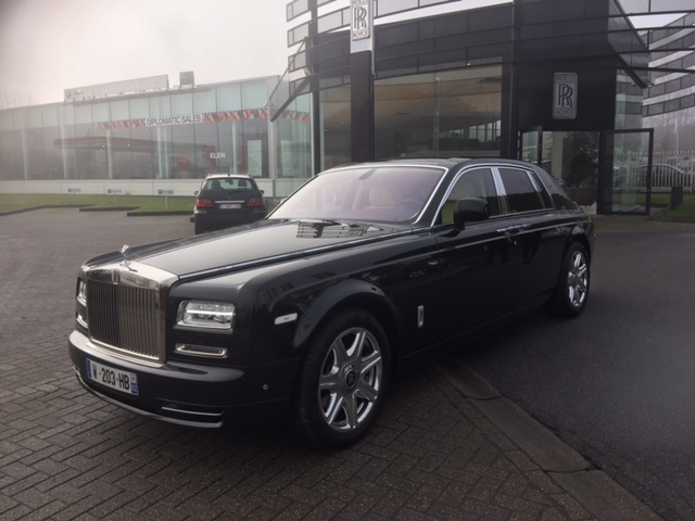 Rolls Royce Phantom phase 2 .